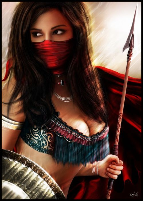BECOME THE WARRIOR, FOR SHE IS INSIDE YOU.